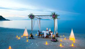 Romantic Dinner on Koh Samui, Thailand