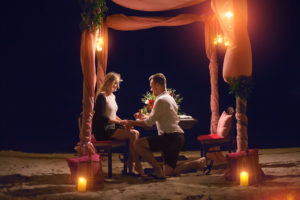 Marriage proposal on Koh Samui, Thailand