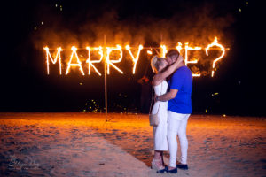 Marriage proposal Samui